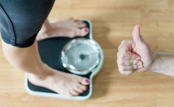 Exercising helps to lose weight