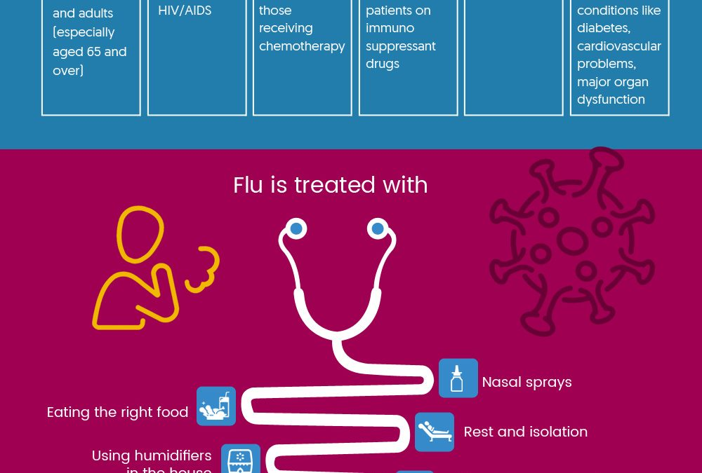 Foods to Eat When You Have Flu – Infographic