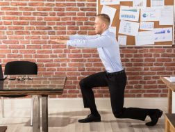staying fit at your desk