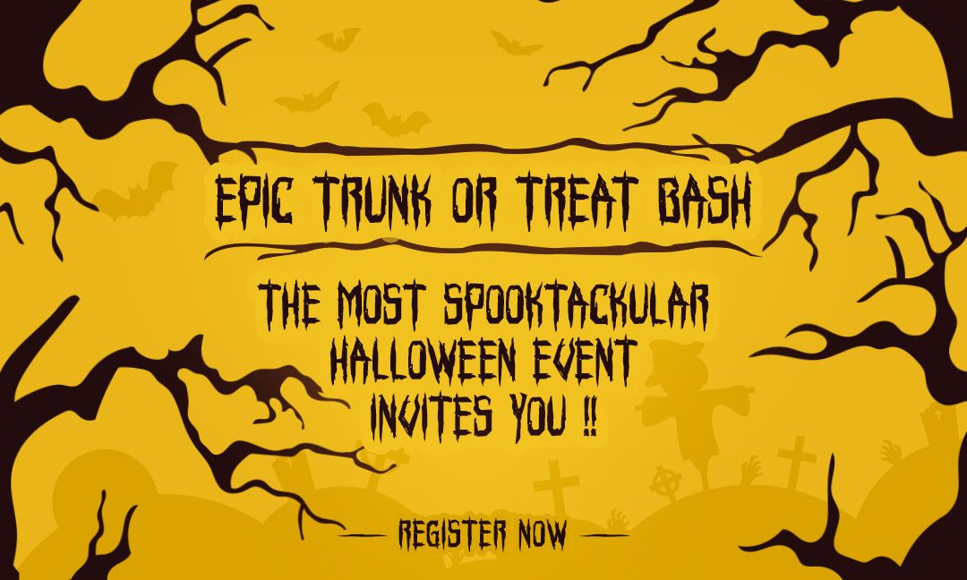 Halloween's Here Folks!! Get Set to Have a Trunk-Or-Treat Blast at EPIC